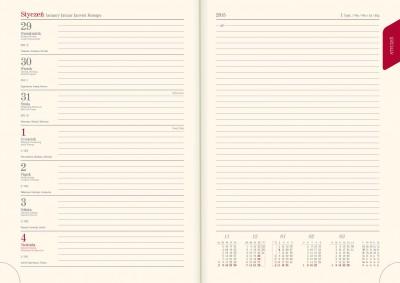 Książkowe tygodniowo-notatnikowy